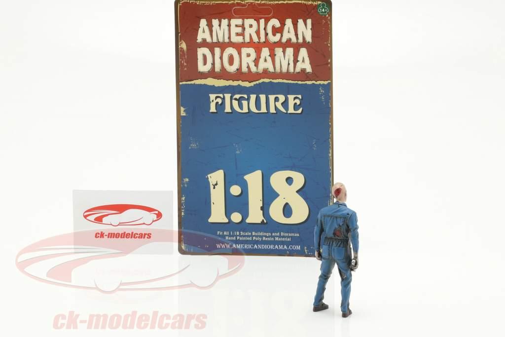 Zombie mecânico I figura 1:18 American Diorama