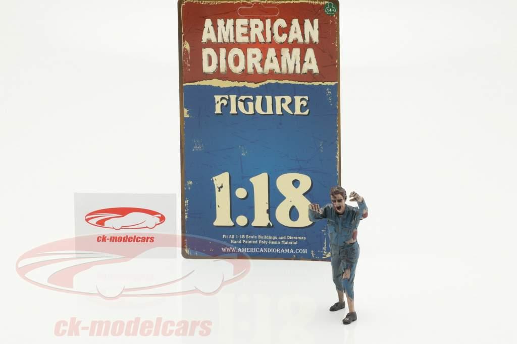 Zombie Mechaniker II Figur 1:18 American Diorama
