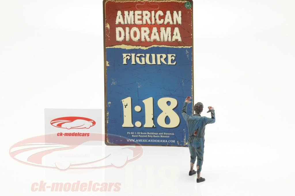 Zombie meccanico II cifra 1:18 American Diorama