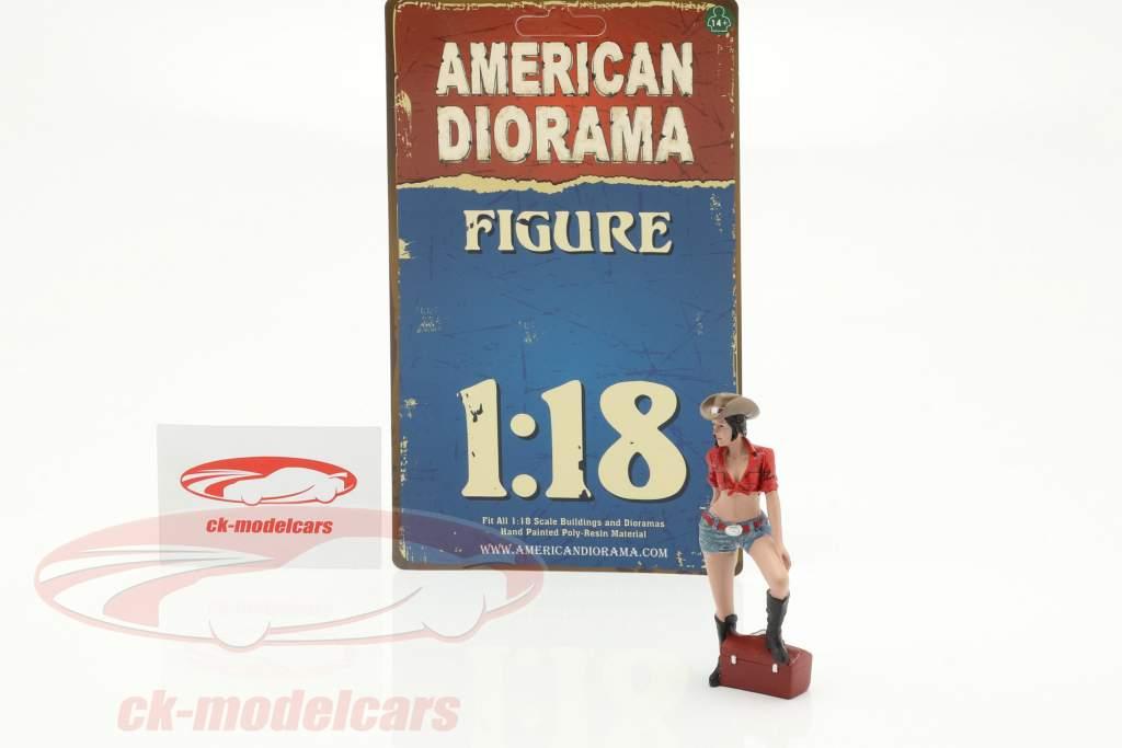 The Western Style III figuur 1:18 American Diorama
