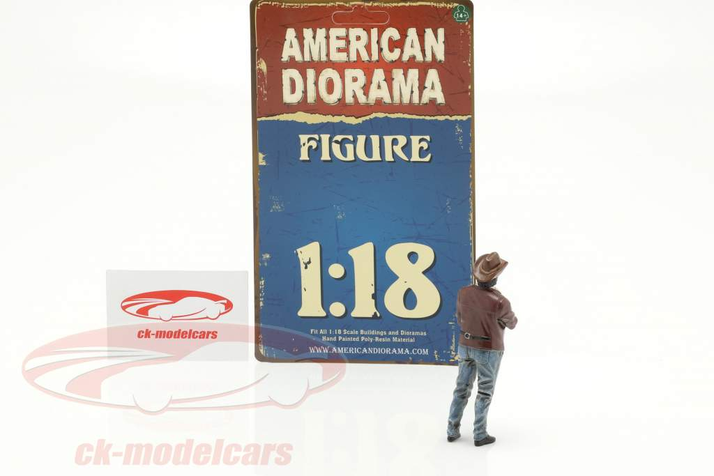 The Western Style VIII figuur 1:18 American Diorama