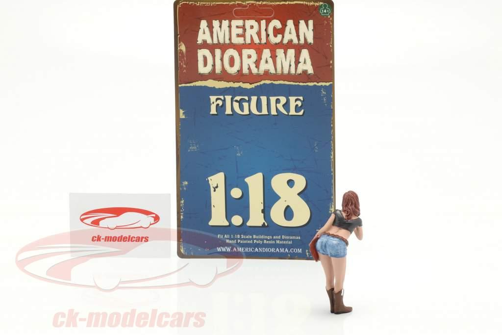The Western Style V figuur 1:18 American Diorama