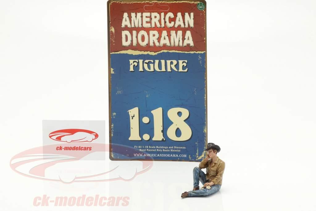 The Western Style IV figuur 1:18 American Diorama