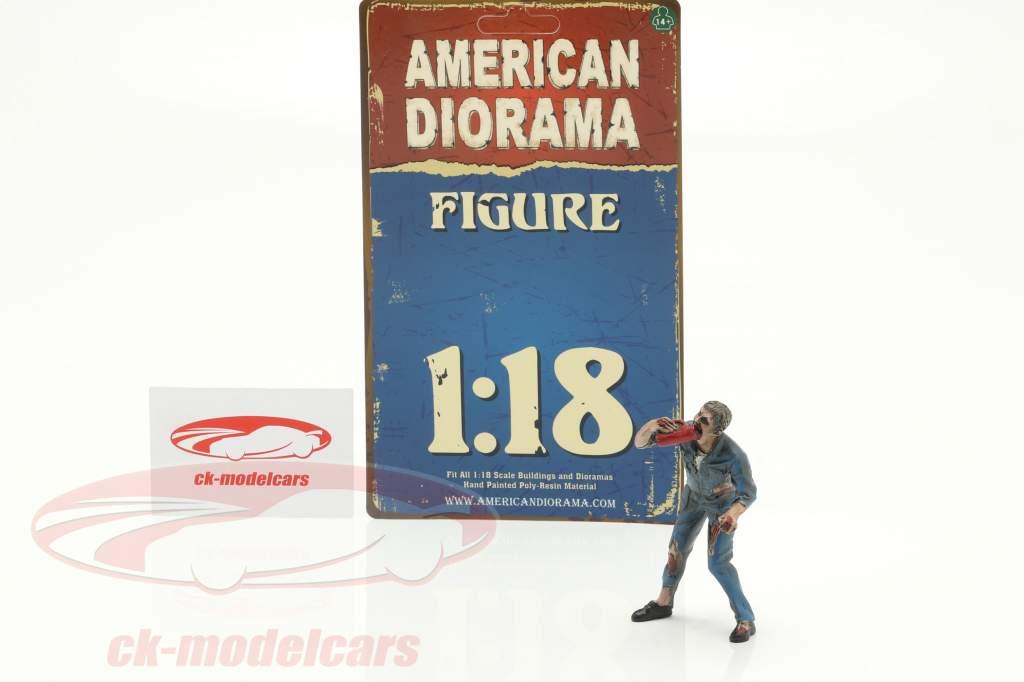 Zombie mechanic III figure 1:18 American Diorama