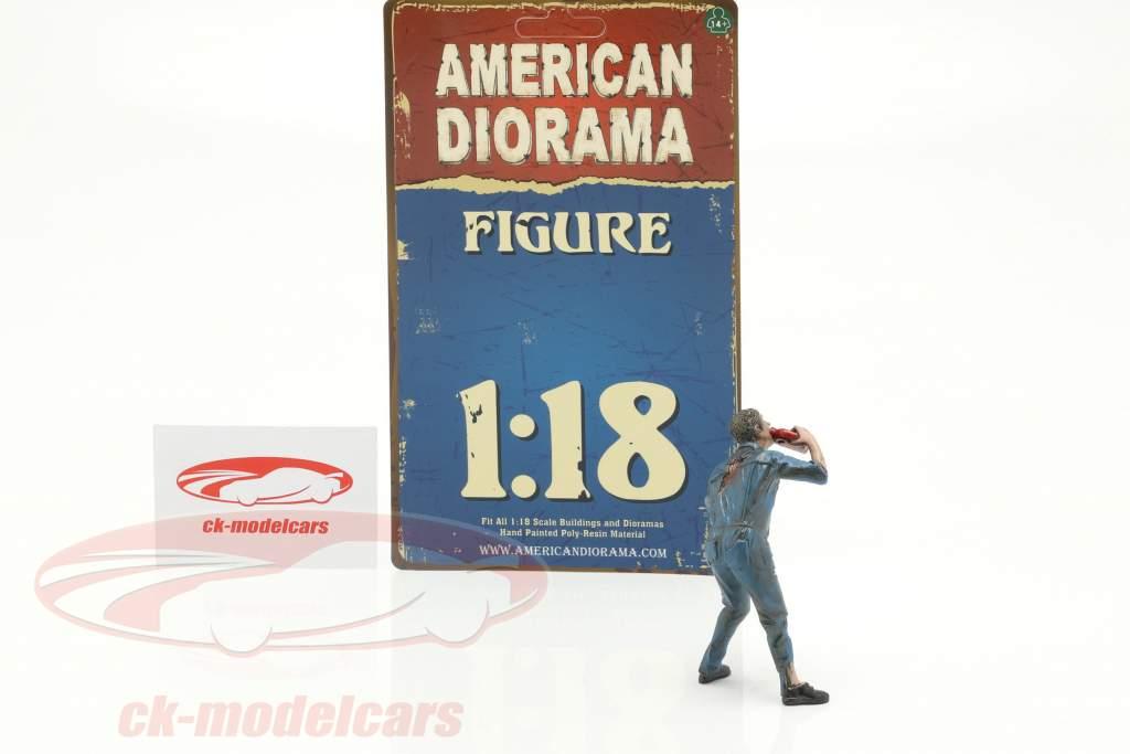 Zombie meccanico III cifra 1:18 American Diorama