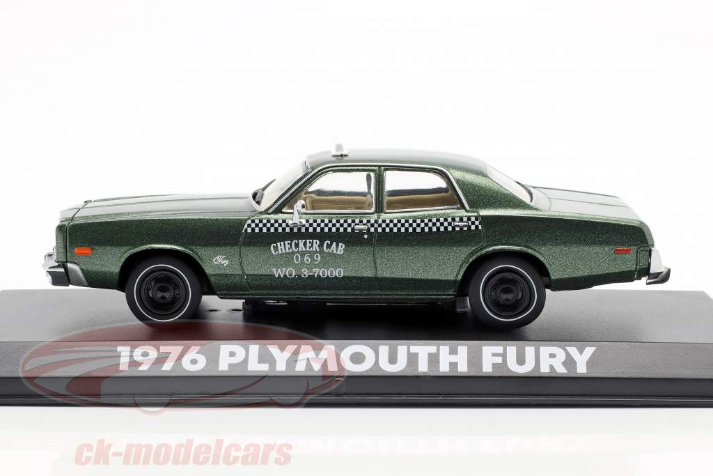 1:43 Greenlight Plymouth Fury Checker Cab Beverly Hills Cop 1976