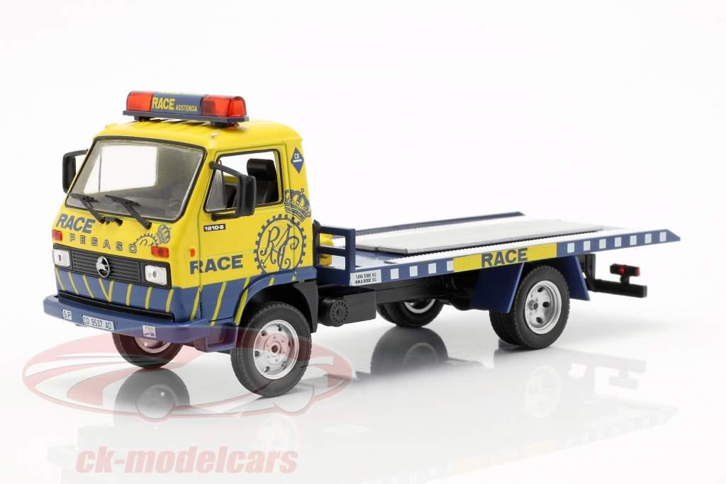 Pegaso Ekus 1210-6 Race Asistencia jaune / bleu 1:43 Altaya