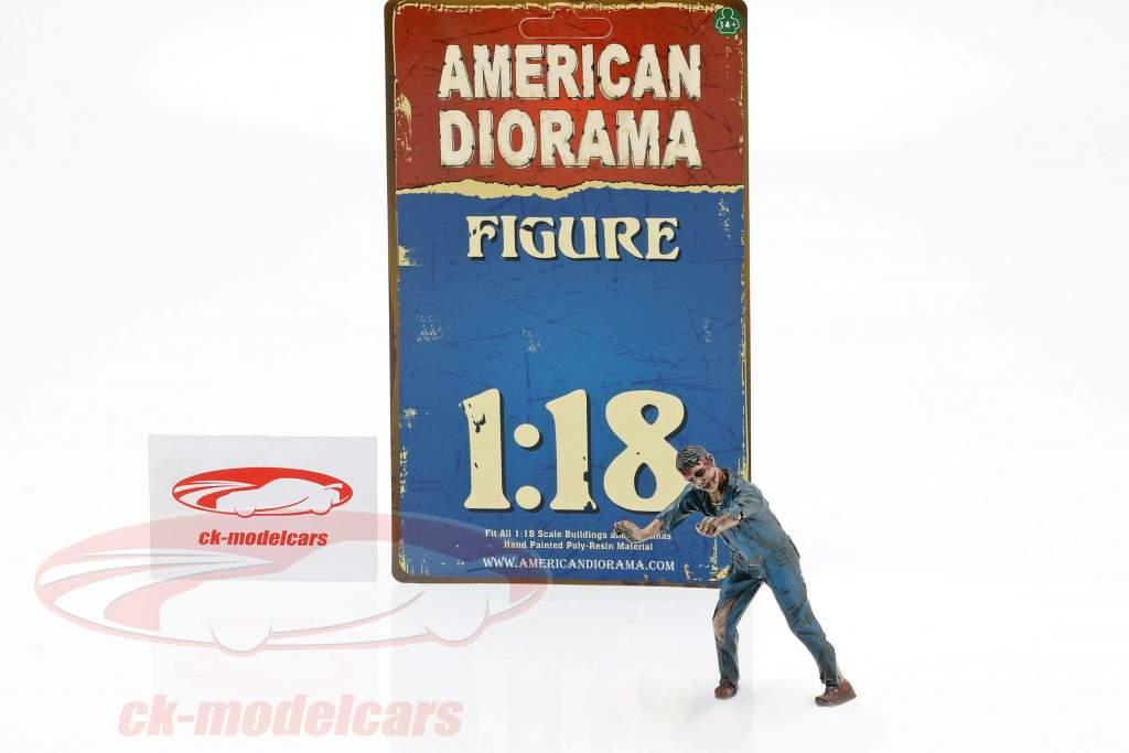 Zombie mecânico IV figura 1:18 American Diorama