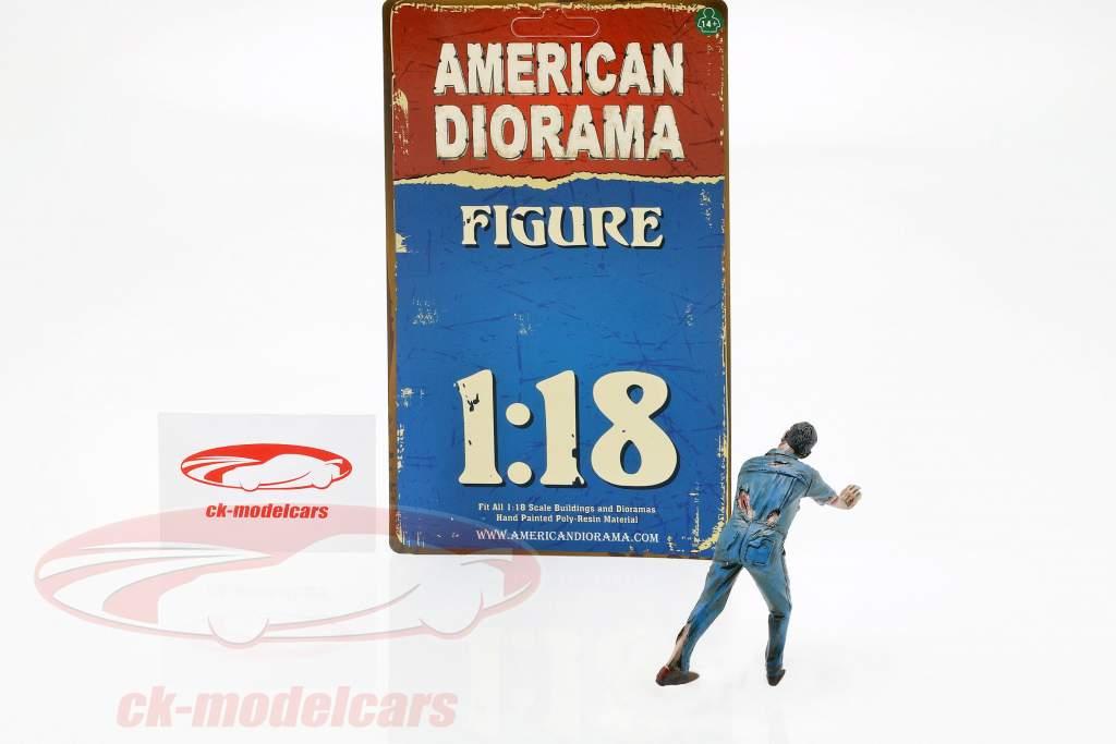 Zombie mecánico IV figura 1:18 American Diorama