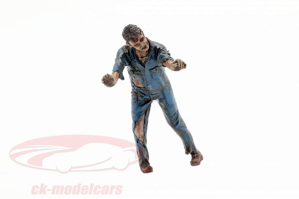 Zombie meccanico IV cifra 1:18 American Diorama