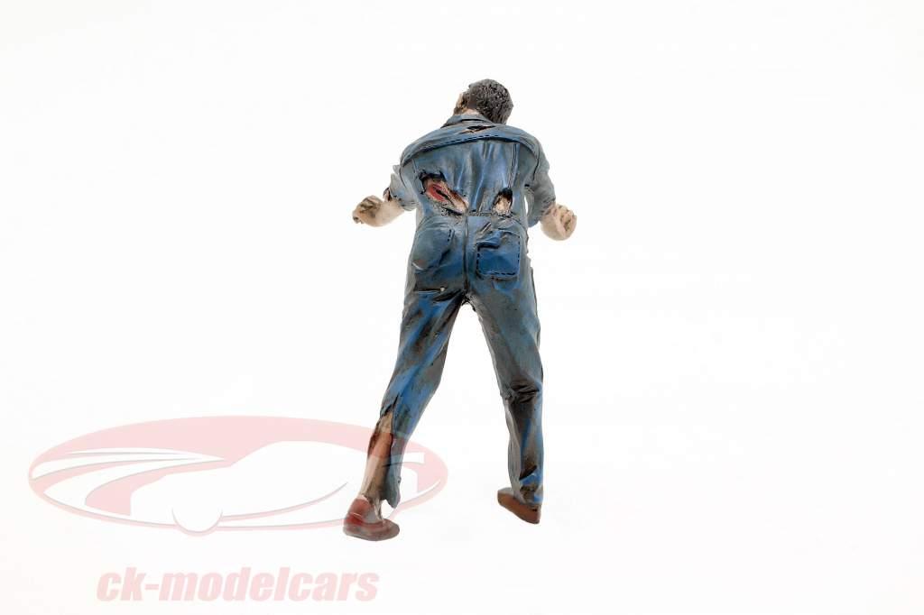 Zombie mekaniker IV figur 1:18 American Diorama