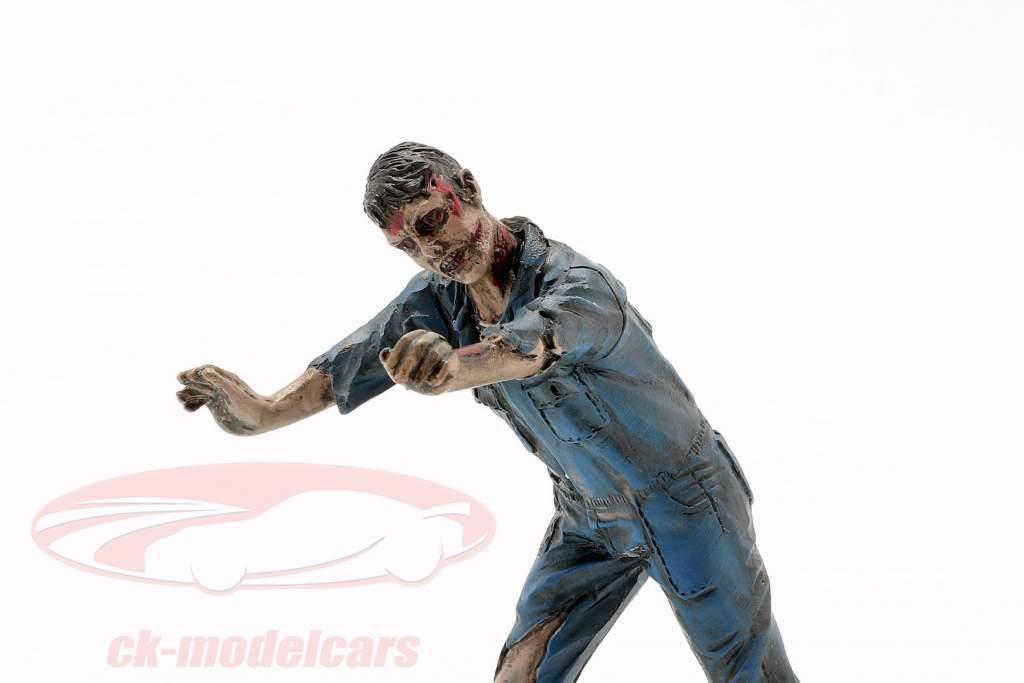 Zombie monteur IV figuur 1:18 American Diorama