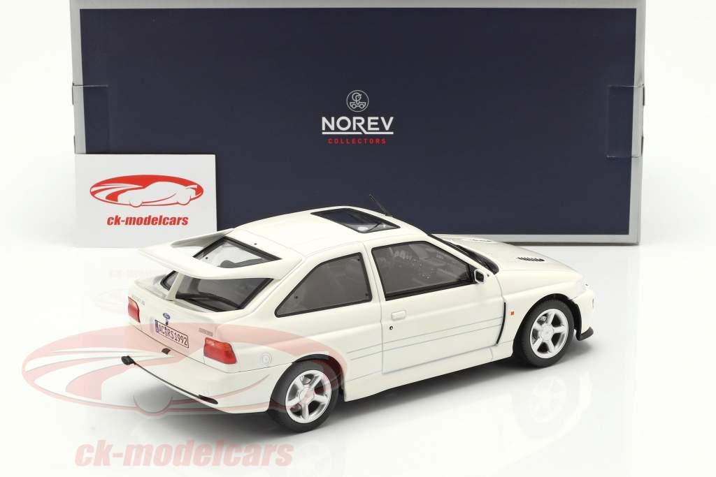 Ford Escort Cosworth Bouwjaar 1992 wit 1:18 Norev
