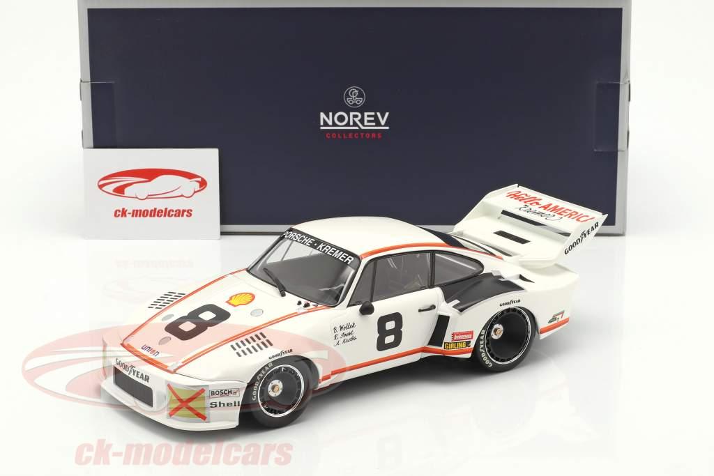 Porsche 935 #8 tercero 24h Daytona 1977 Joest, Wollek, Krebs 1:18 Norev
