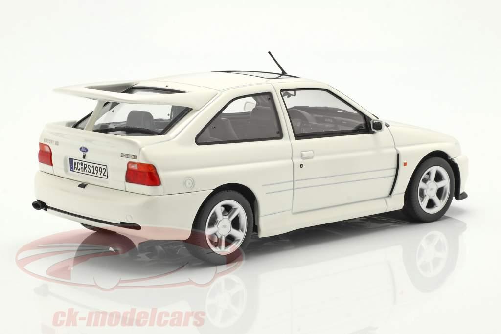 Ford Escort Cosworth año de construcción 1992 blanco 1:18 Norev