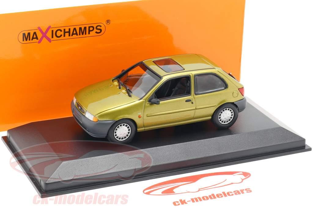 Ford Fiesta año de construcción 1995 oro metálico 1:43 Minichamps