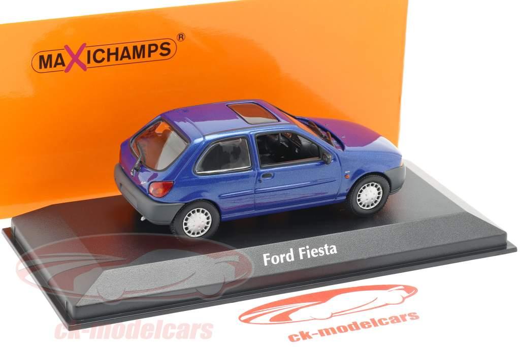 Ford Fiesta Baujahr 1995 blau metallic 1:43 Minichamps