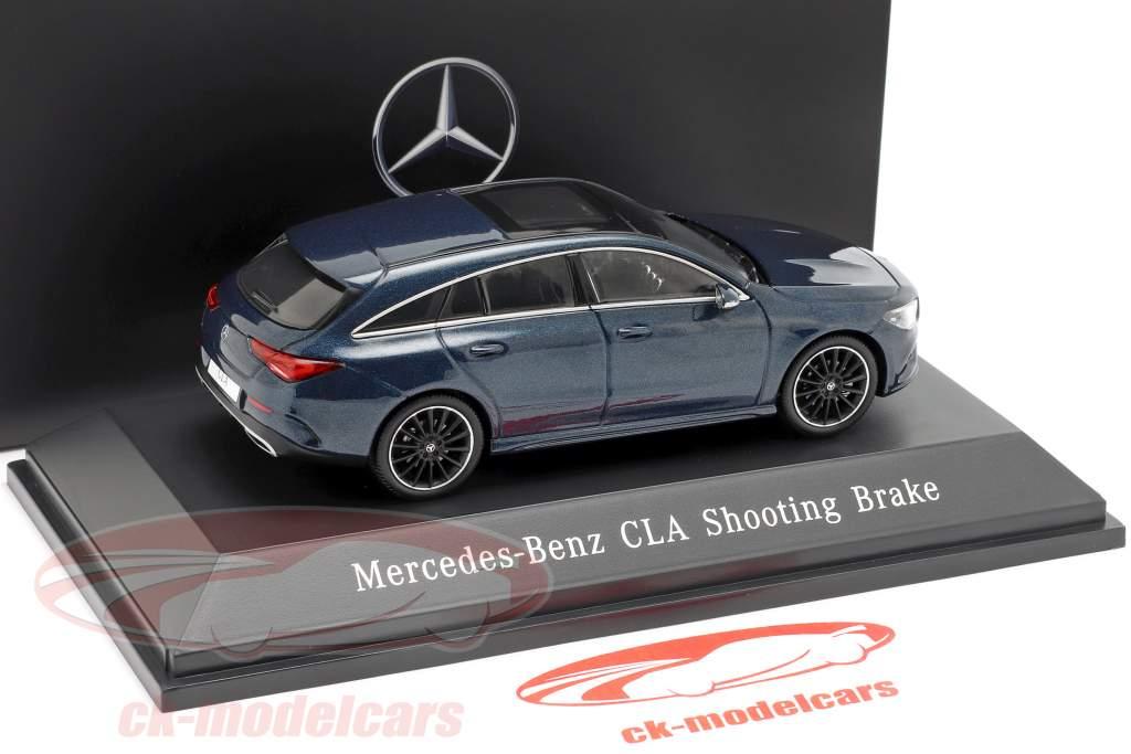 Mercedes-Benz CLA Shooting Brake (X118) Bouwjaar 2019 denim blauw 1:43 Spark