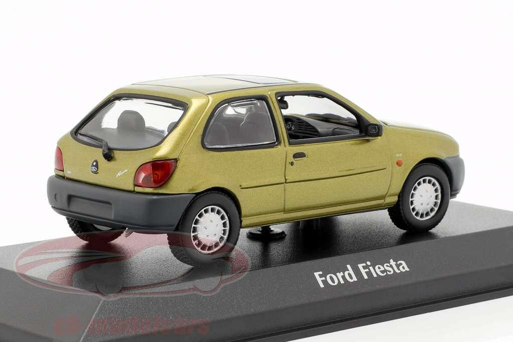 Ford Fiesta anno di costruzione 1995 oro metallico 1:43 Minichamps