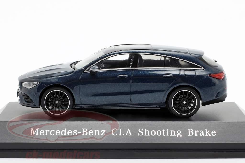 Mercedes-Benz CLA Shooting Brake (X118) año de construcción 2019 denim azul 1:43 Spark