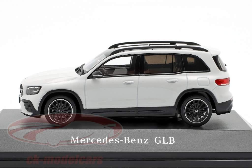 Mercedes-Benz GLB (X247) Opførselsår 2019 digital hvid 1:43 Spark