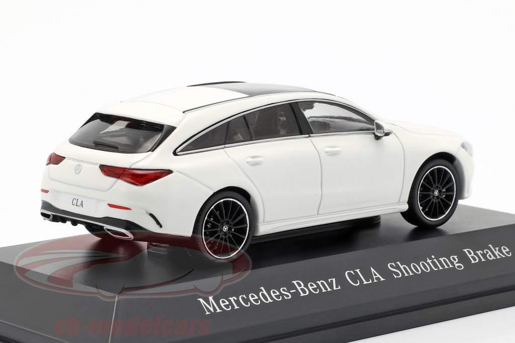 Mercedes-Benz CLA Shooting Brake (X118) year 2019 polar white 1:43 Spark