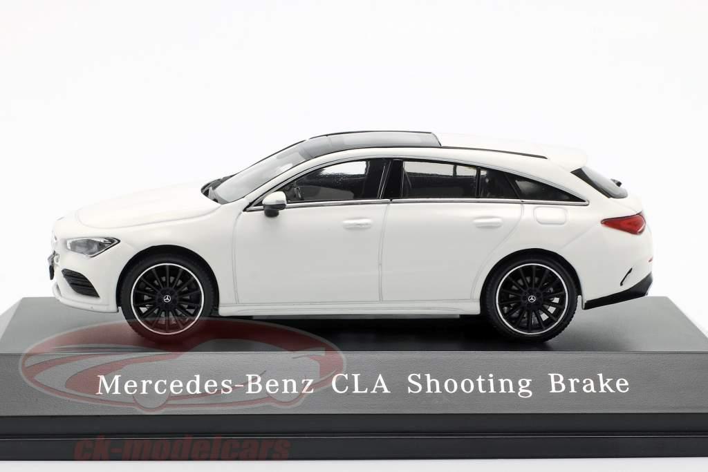 Mercedes-Benz CLA Shooting Brake (X118) Bouwjaar 2019 polarwit 1:43 Spark