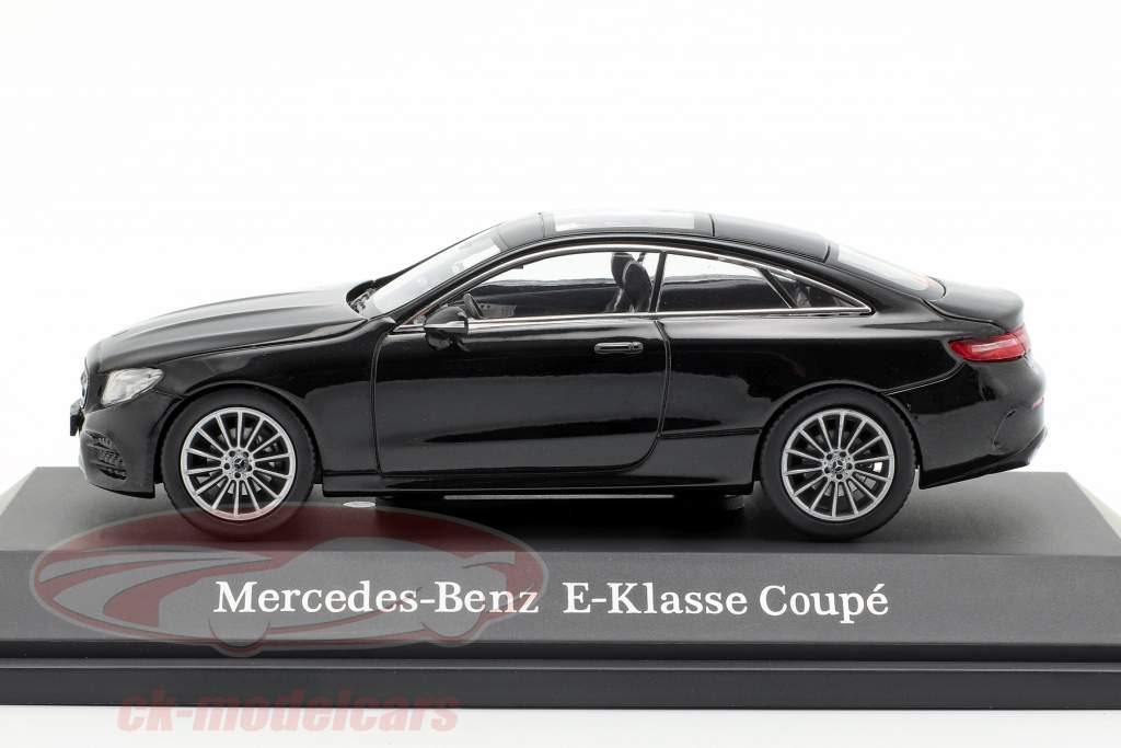 Mercedes-Benz E-Class Coupe (C238) obsidian black 1:43 iScale