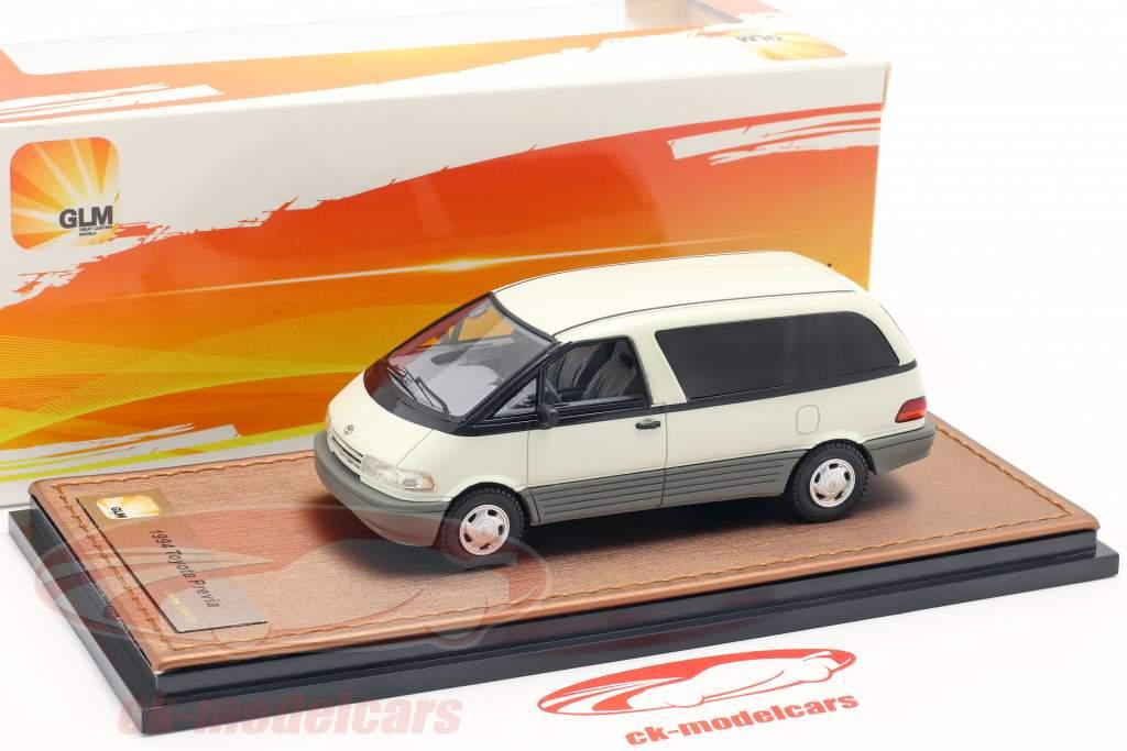 Toyota Previa Opførselsår 1994 hvid 1:43 GLM