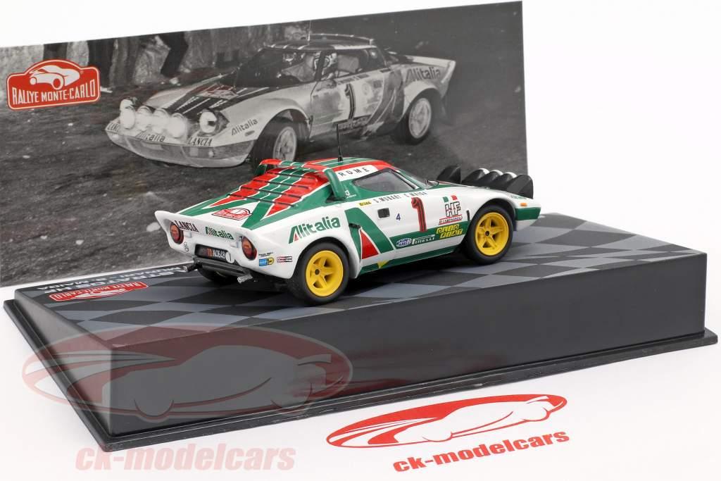 ALTAYA IXO LANCIA STRATOS WRC 1977 rallye monte carlo Munari modèle de voiture MH04 1:43