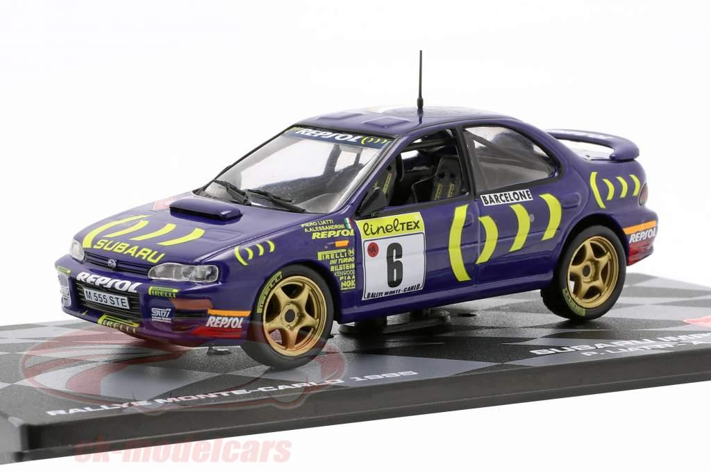 Subaru Impreza 555 #6 octavo Rallye Monte Carlo 1995 Liatti, Alessandrini 1:43 Altaya