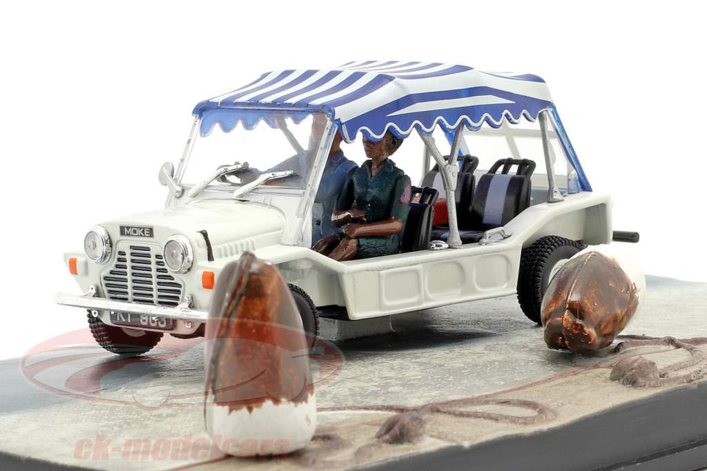 Mini Moke James Bond Movie Car Leben und Sterben lassen 1:43 Ixo