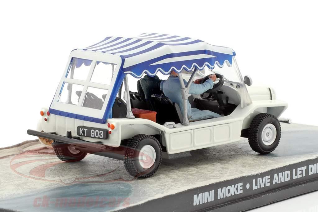 Mini Moke auto James film di James Bond Live and Let Die 1:43 Ixo