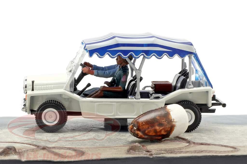 Mini Moke Car James Bond movie Live and Let Die 1:43 Ixo