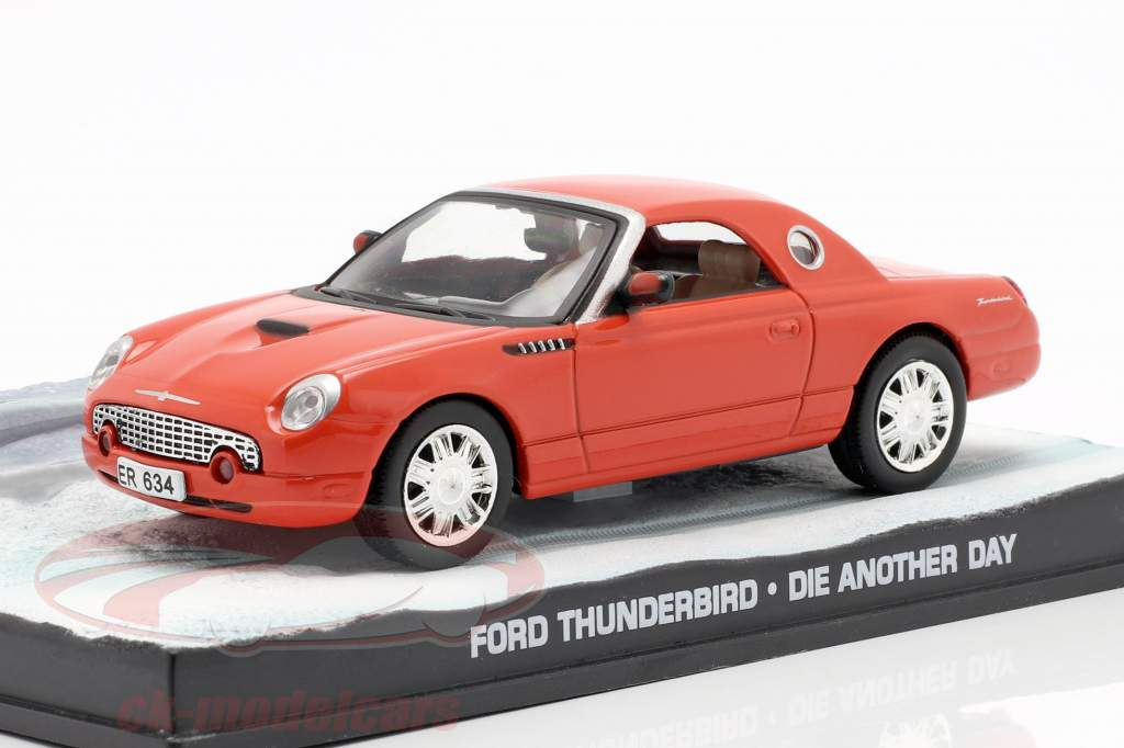 Ford Thunderbird James Bond film Die Another Day Car 1:43 Ixo appelsin