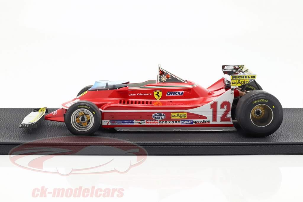 Gilles Villeneuve Ferrari 312T4 Short Tail #12 formula 1 1979 1:12 GP Replicas