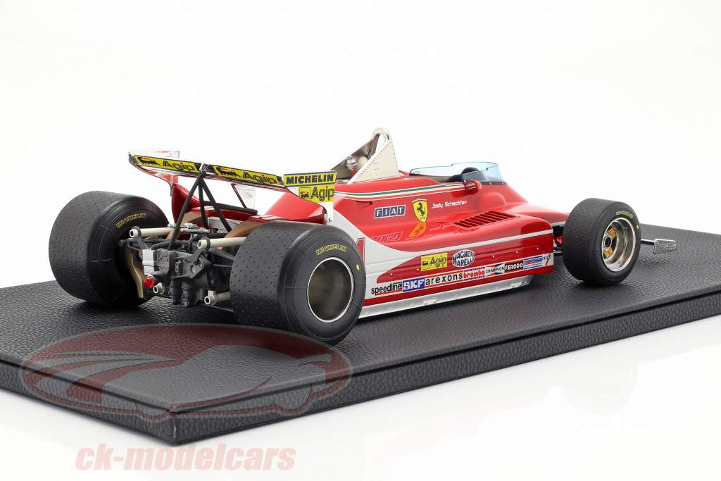 J. Scheckter Ferrari 312T4 Short Tail #11 World Champion F1 1979 1:12 GP Replicas