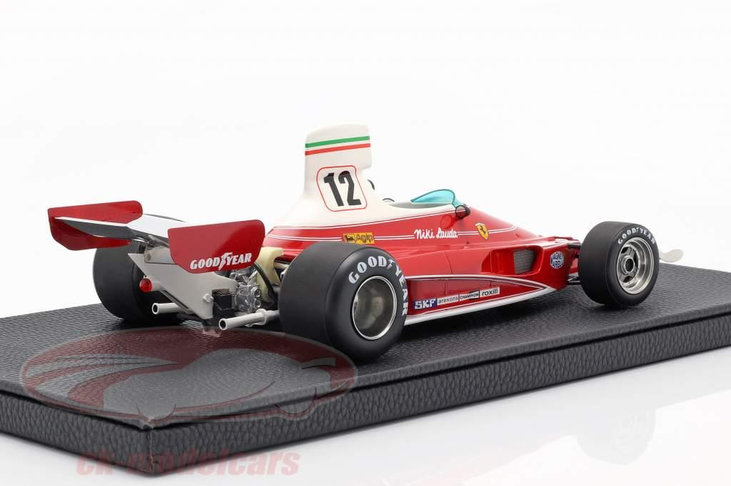 Niki Lauda Ferrari 312T #12 campeón del mundo fórmula 1 1975 1:18 GP Replicas