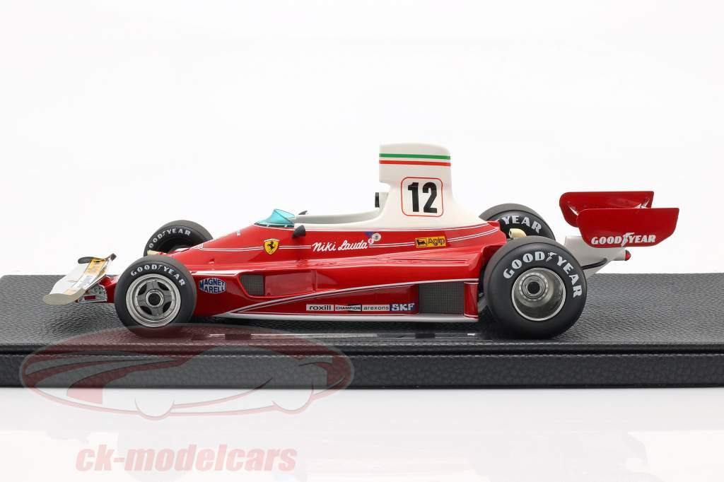 Niki Lauda Ferrari 312T #12 verdensmester formel 1 1975 1:18 GP Replicas