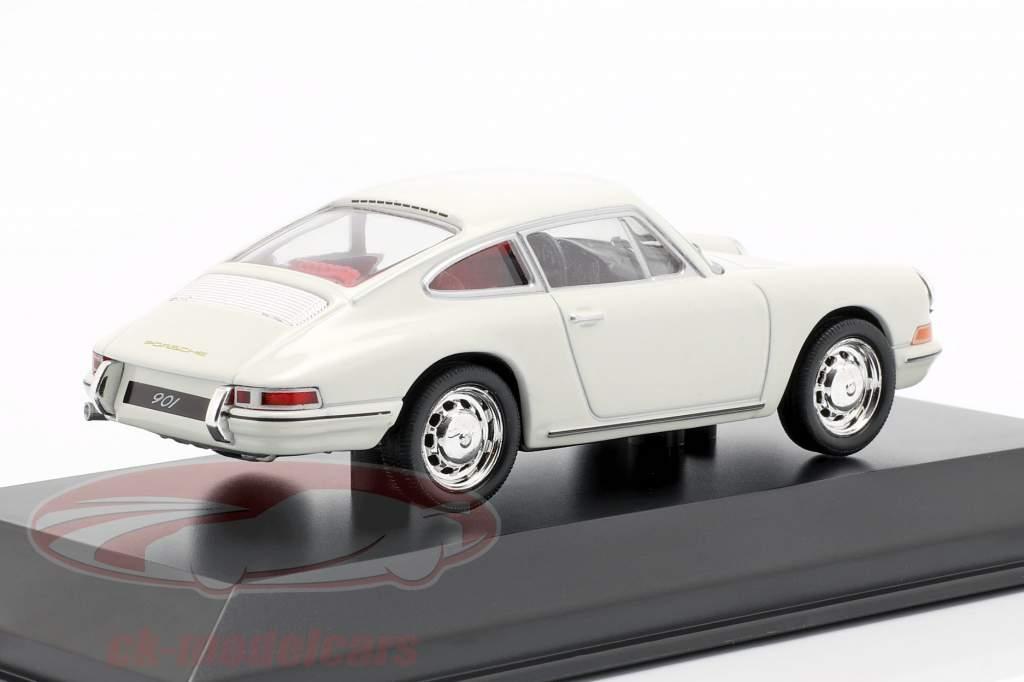 Porsche 901 Baujahr 1964 weiß Porsche Museum Edition 1:43 Welly