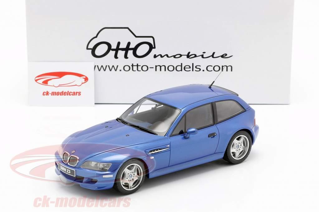 BMW Z3 M Coupe 3.2 year 1999 estoril blue 1:18 OttOmobile