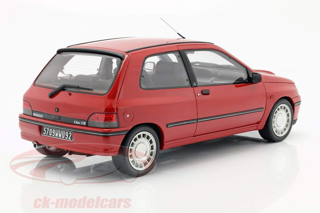 Renault Clio 16S Ph.1 year 1995 red 1:12 OttOmobile
