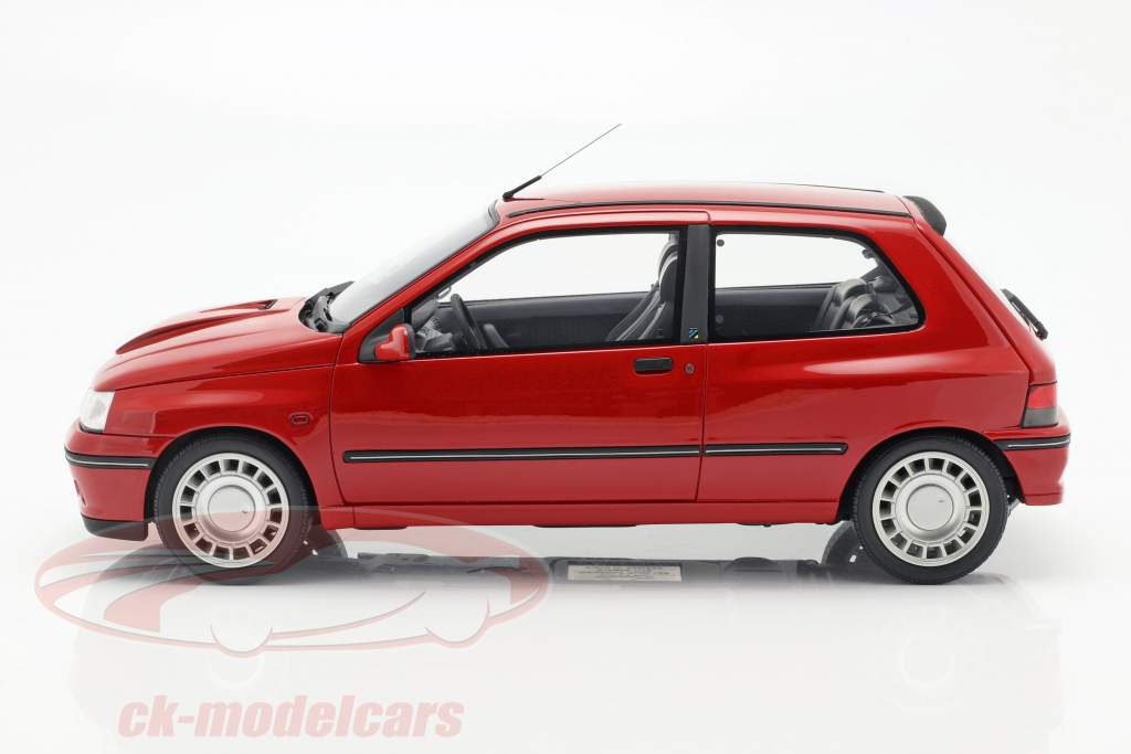 Renault Clio 16S Ph.1 Bouwjaar 1995 rood 1:12 OttOmobile
