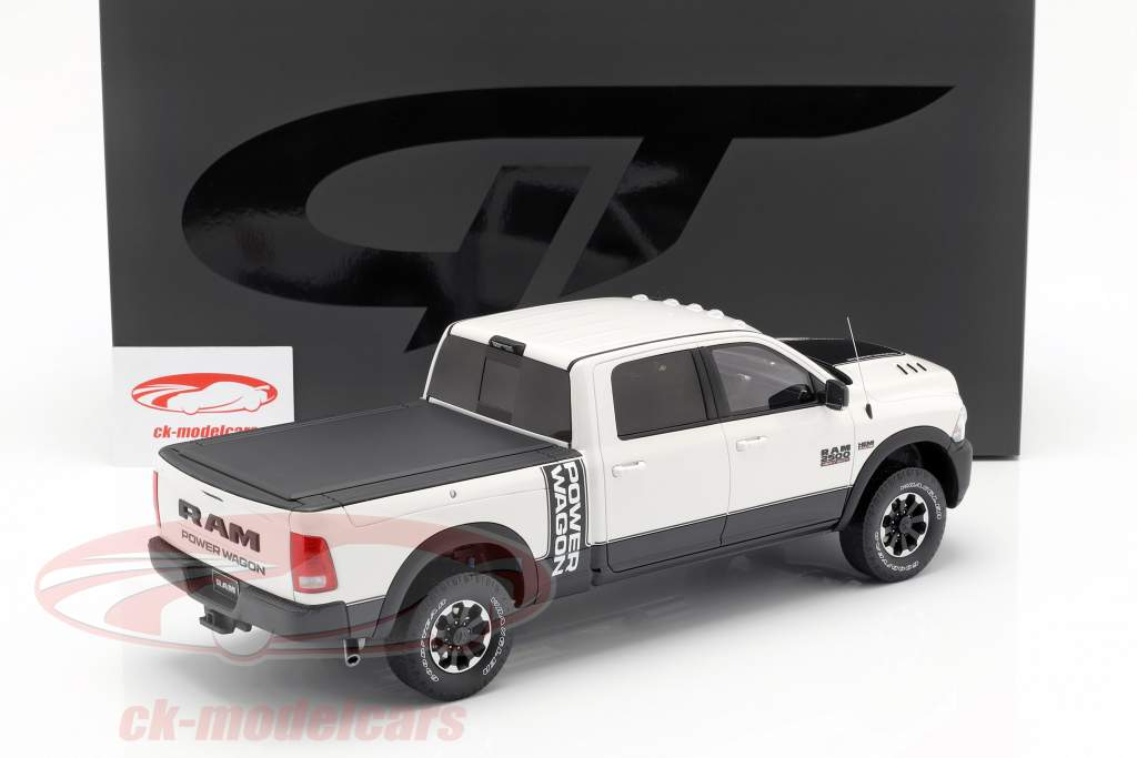 Dodge Ram 2500 Power Wagon Opførselsår 2017 hvid 1:18 GT-SPIRIT