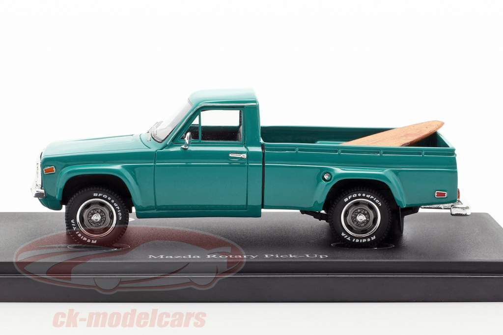 Mazda Rotary Pick-Up year 1974 dark turquoise 1:43 AutoCult