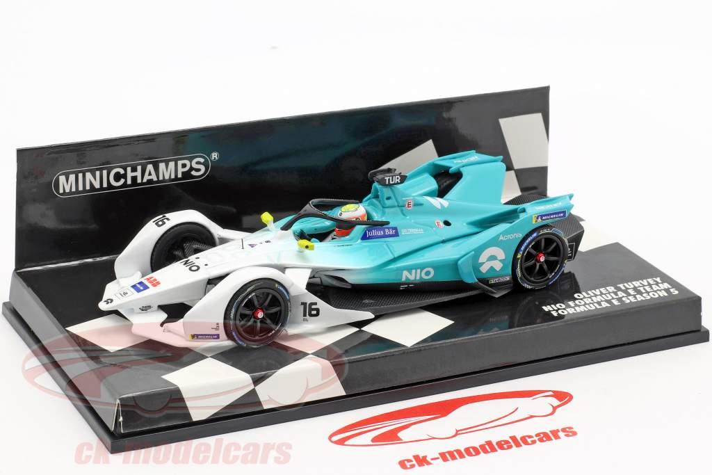 Oliver Turvey NIO Sport 004 #16 formule E seizoen 5 2018/19 1:43 Minichamps