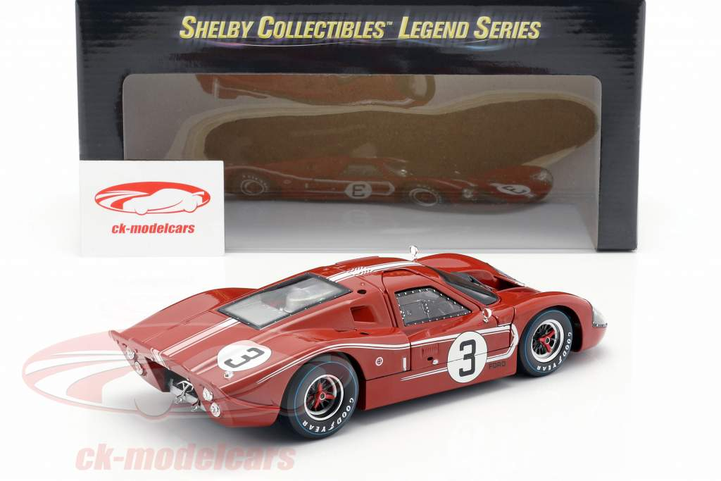 Ford MK IV #3 24h LeMans 1967 Andretti, Bianchi 1:18 ShelbyCollectibles