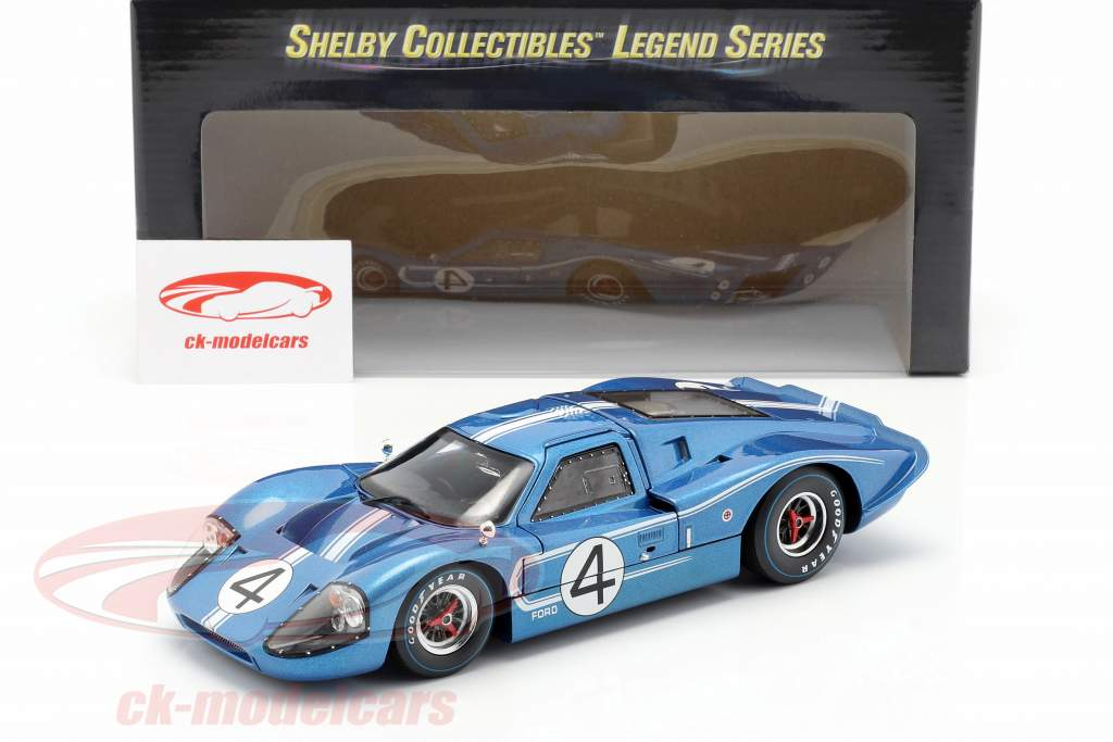 Ford MK IV #4 24h LeMans 1967 Hulme, Ruby 1:18 ShelbyCollectibles