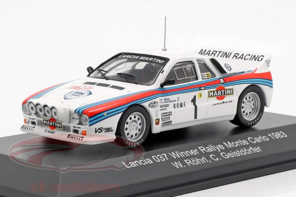 Lancia 037 #1 Winner Rally Monte Carlo 1983 Röhrl, Geistdörfer 1:43 CMR