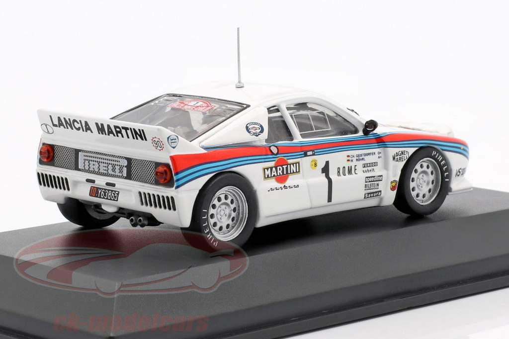 Lancia 037 #1 Winner Rallye Monte Carlo 1983 Röhrl, Geistdörfer 1:43 CMR